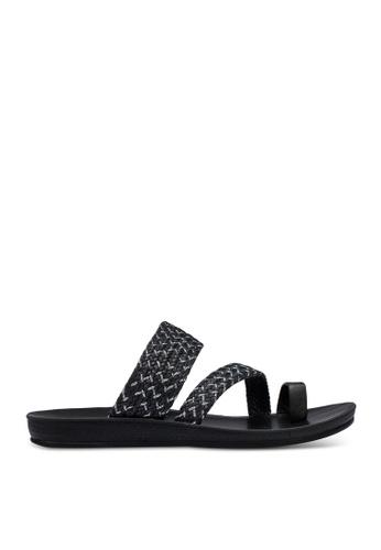Noveni 黑色 Plait Sandals 0DD7FSHDEBCF03GS_1