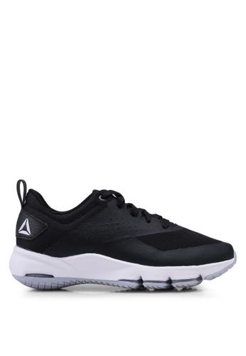 Reebok 黑色 and 灰色 and 白色 Fitness Reebok Cloudride DMX 3.0 LS DMX K 健走鞋 CA302SH461F84AGS_1