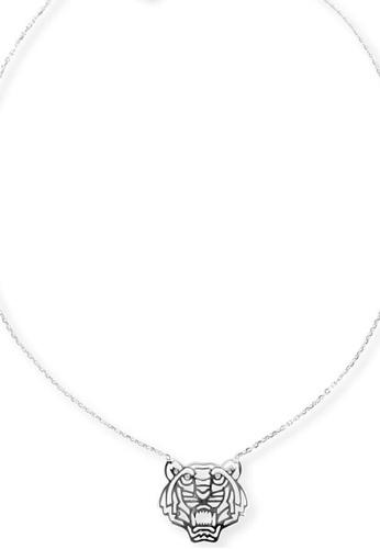 Kenzo silver KENZO TIGER NECKLACE 937BAAC821E7A4GS_1