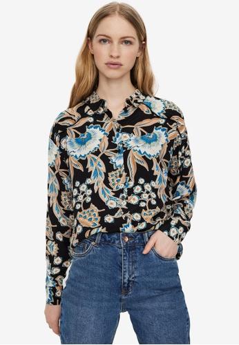 Vero Moda black Lola Woven Shirt 7405CAA048F54AGS_1