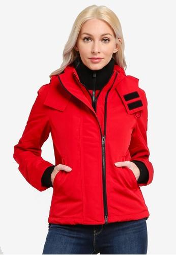 SUPERDRY red Ottoman Arctic Windcheater Jacket 5D615AA8DA1CB0GS_1
