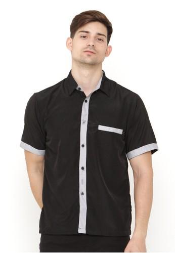 Java Seven Muslimwear black Mandrake 564BFAA884B3B5GS_1