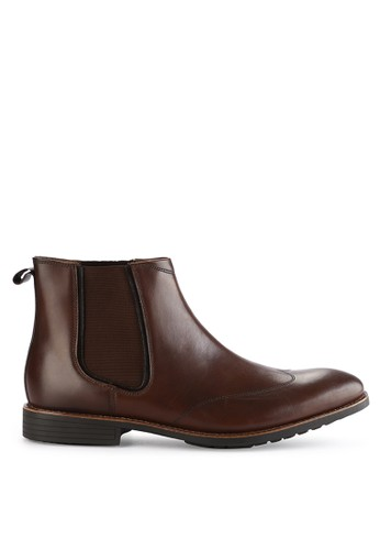 Hush Puppies brown Mudi Chelsea Boot 4BA0ASHBBDD1DBGS_1