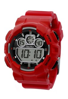 Unisilver TIME Men's Urbanite Watch KW1491 -1004 Red