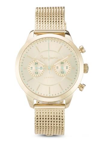 Resprit地址2353121502 Meg 刻度顯示不銹鋼女錶, 錶類, 飾品配件