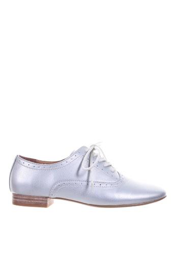 PRODUIT PARFAIT silver Oxford Shoes E53F3SHF48A999GS_1