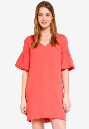 Vero Moda red Lee Short Dress 0FF03AA14D08B5GS_1