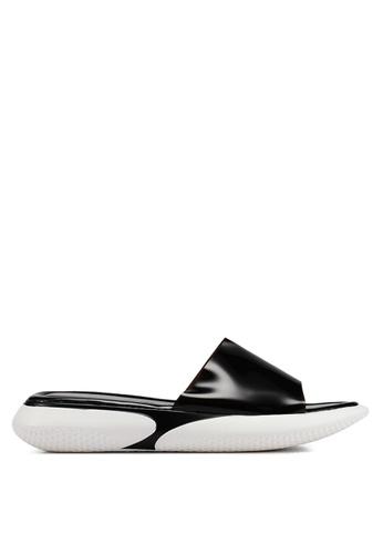 BETSY 黑色 閃亮拖鞋 CCCADSH06F6BA0GS_1