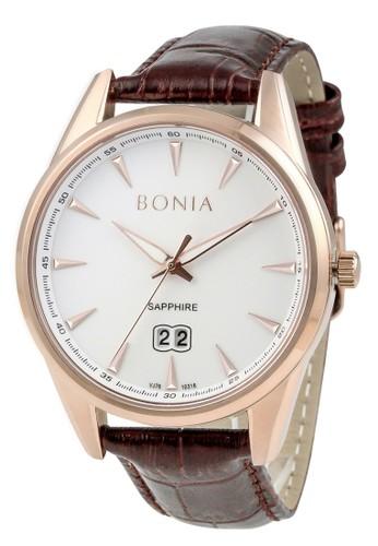 BONIA brown Bonia B10318-1512 - Jam Tangan Pria - Brown Rosegold  888EDAC58B6280GS 1 47edbaa4f6