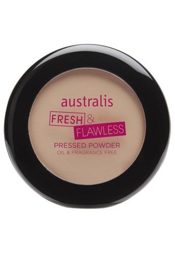 Australis beige Australis Fresh n Flawless Pressed Powder Natural AU782BE67DGYSG_1