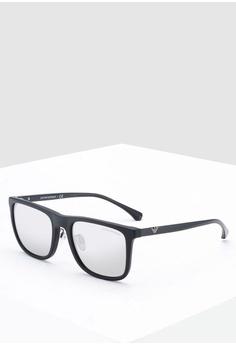 d2f8d697f3c Emporio Armani black Essential Leisure EA4131D Sunglasses EF65EGL6CA2C32GS 1