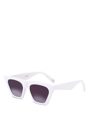 10d26acae52 Shop NA-KD Sharp Square Cat Eye Sunglasses Online on ZALORA Philippines