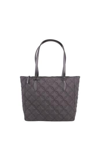 Kate Spade black Kate Spade Large Jae WKRU7035 Quilted Tote Bag In Black 2D377ACEE9CFF2GS_1