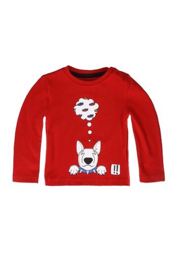 Babybol red Bull Terrier T-Shirt 52BCEKAA61DB79GS_1