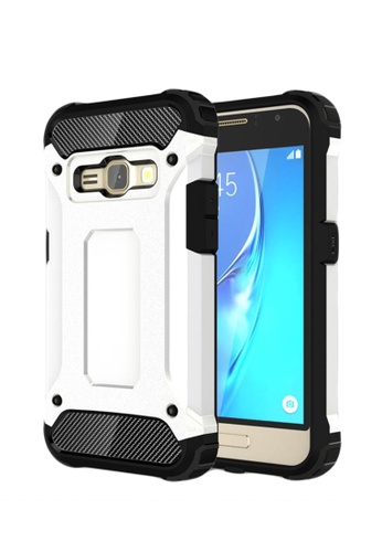 Shop Nadjames Tough Hybrid Dual Layer Case for Samsung Galaxy J7 Online on ZALORA Philippines