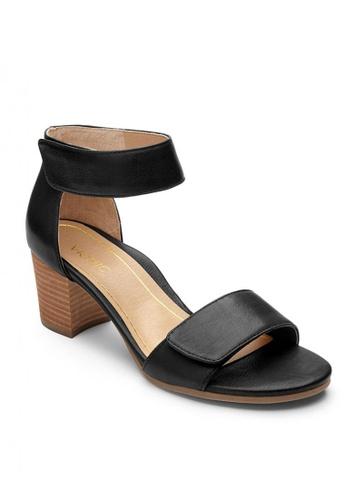 Vionic black Pep Solana Women's Block Heels CC7BFSH47167C3GS_1