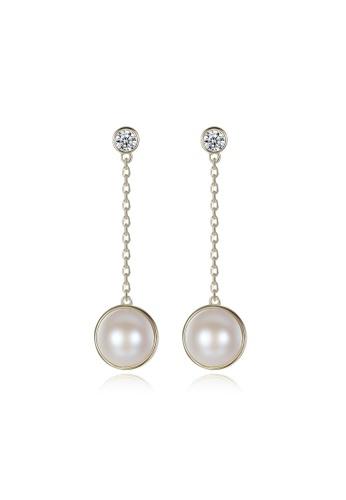 A.Excellence white Premium 18K white Pearl Elegant Earring 721FEAC9A7C1A9GS_1