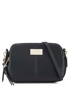 c825ee36f1c2 River Island black Triple Compartment Crossbody Bag F5BA5AC60B9573GS 1