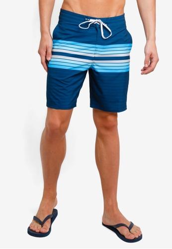 Billabong 海軍藍色 印花抽繩衝浪褲 F4E48AA714EE64GS_1