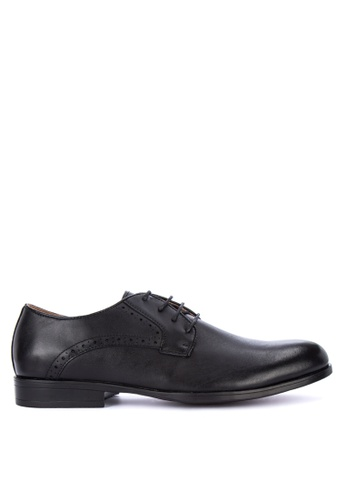 Gibi black WAX 004 Formal Shoes 217B8SH0757CC9GS_1