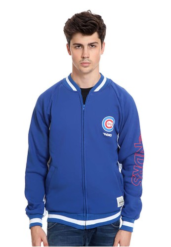 Endorse blue Endorse Jacket E Baseball Zipper Ndrs Cold Blue - END-RJ005 5D207AADD0DA2BGS_1