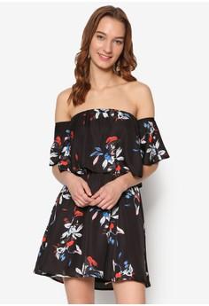 Floral Print Off Shoulder Dress. Get your Floral Print Off Shoulder Dress at Zalora Now!!...