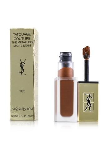 Yves Saint Laurent YVES SAINT LAURENT - Tatouage Couture The Metallics - # 103 Tribal Copper 6ml/0.2oz 9D2A5BEC977CBDGS_1