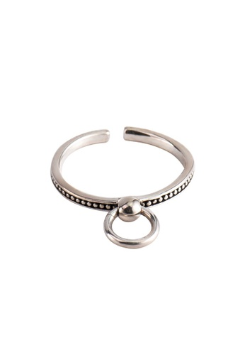 A-Excellence silver Premium S925 Sliver Geometric Ring 15F72AC3027CFDGS_1