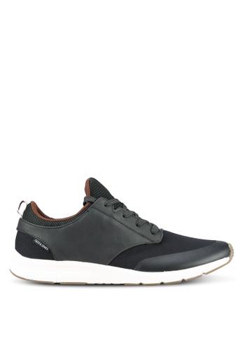 Jack & Jones grey Bolton Sneakers JA987SH0RRDUMY_1