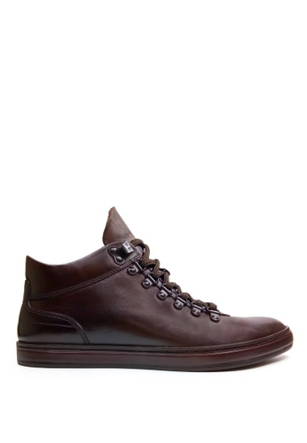 Kenneth Cole New York brown BRAND TOUR - Casual Lace-Up Sneaker 76BA0SH08991B6GS_1