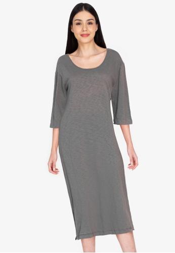 Chictees grey Alberta Dress 1FC86AA87029A9GS_1