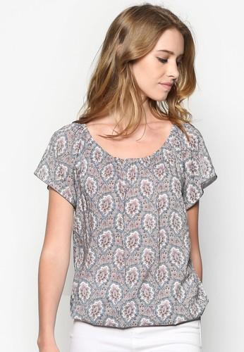 印花短袖織衫, esprit hk store韓系時尚, 梳妝