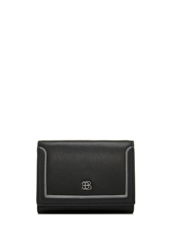 BONIA black Black Neu 3 Fold Wallet 68CE4AC20F9F79GS_1