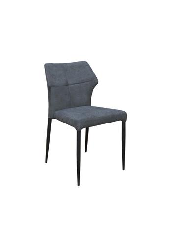 Chic Establishment black and grey Binghamton Chair BA580HLFAE02EFGS_1