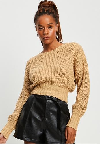 BWLDR brown Essential Knit Pullover 6EFE4AADAE070EGS_1