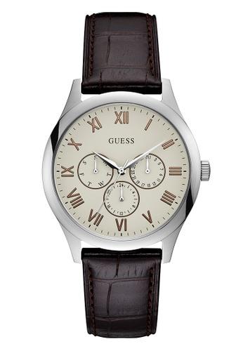 e743a2b27 Buy Guess Watch Mens Rose Gold/Brown-W1130G2 | ZALORA HK