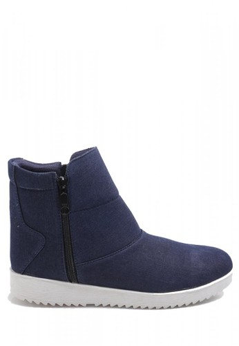 Dr. Kevin navy Dr. Kevin Women Boot Casual Shoes 4014 - Navy DR982SH52OAHID_1