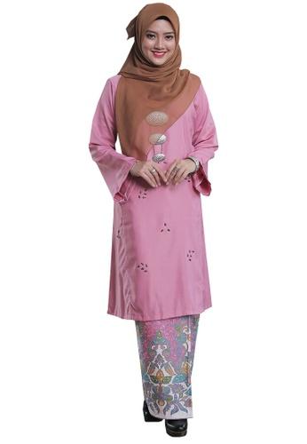 Kenangan Terindah 03 from Hijrah Couture in Pink