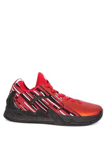 Anta red KT2 Finals Low Basketball Shoes 05ECESHDB18D43GS_1