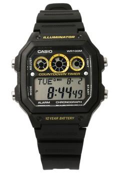Digital Watch AE-1300WH-1AVDF