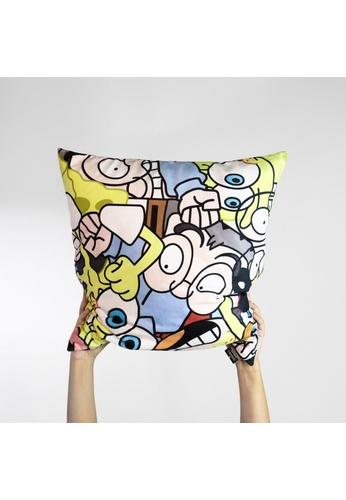 Miffy Mr Kiasu x Spongebob Squarepants Cushion Cover. 55089HL57DA13CGS_1