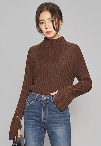 半高領保暖針織上衣, 服飾, zalora 心得 ptt毛衣& 針織外套