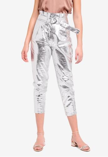 Glamorous silver Moonwalk Pants C83C5AAF6AE96DGS_1