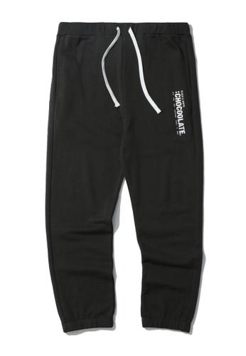 :CHOCOOLATE grey Vertical logo sweatpants 805B0AAD67440DGS_1