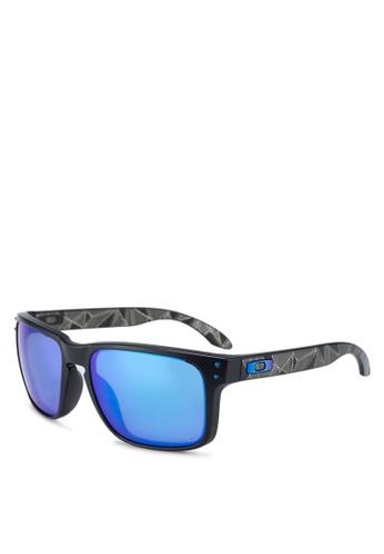 Oakley black Performance Lifestyle OO9102 Sunglasses 34C25GLF013ED9GS_1