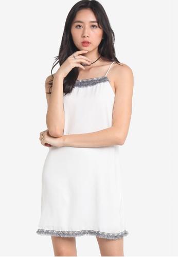 Something Borrowed white Tribal Trim Cami Dress 66071AABD42999GS_1