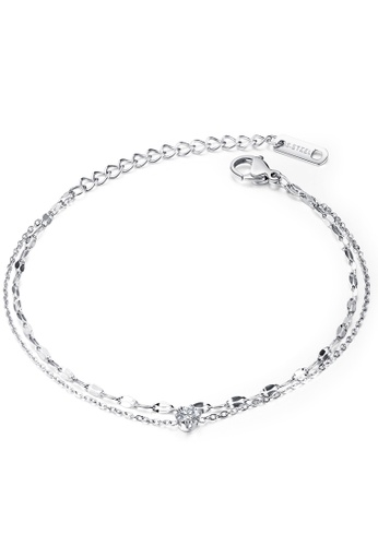 Trendyshop silver Layer Bracelets 866AFAC305993CGS_1