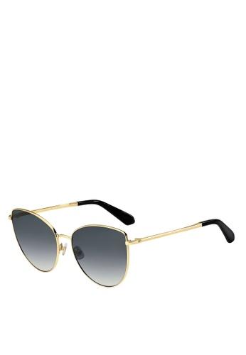 Kate Spade black Dulce/G/S Sunglasses 613AFGL49E2D18GS_1