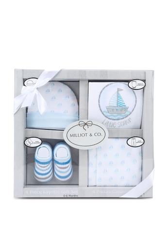 Milliot & Co. blue Ava Boys Gift Set 5D22AKCEAC1972GS_1
