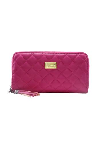 Her Jewellery pink Quilt Wallet HE581AC0RAZ7MY_1